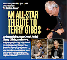 Terry Gibbs Tribute, May 18, 2016